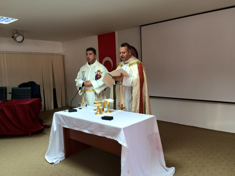 1ST TURKEY MISSION FATHER FADI & FATHER WISAM